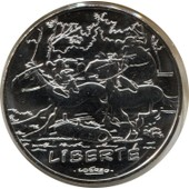 Piece 10 Euros Argent Asterix Et La Liberte (Le Tour De Gaulle)