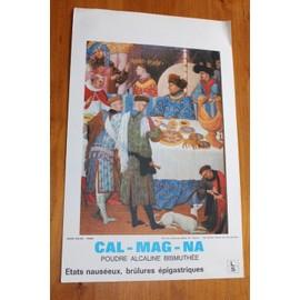 Pol De Limbourg - Debut Xv E Siecle - Tres Riches Heures Du Duc De Berry Illustr�e - Publicit� Pharmaceutique De 1965 Pour Cal-Mag-Na - 2437