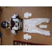 Combinaison Foot Us : Casque Schutt / �pauli�res Diamond / Protections All Star /Pantalon Rawlings
