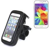 Bike Mount Pour Samsung Galaxy Core Prime, Montage Guidon Pour Les Smartphones / T�L�Phones Mobiles, Universellement Applicables. Convient Pour V�Lo, Moto, Quad, Scooter, Etc. Hydrofuge, éTanche �