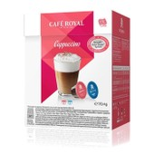 Caf� Royal Dolce Gusto Cappuccino Capsules Compatibles Systeme Dolce Gusto