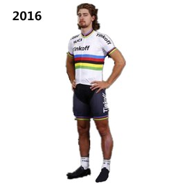 New Tinkoff Saxo Bank 2016 Cycling Jersey Blanc Avec Bande De Couleur Hommes Sportswear T-2828 Ropa Ciclismo Vtt V�lo Maillot �t�