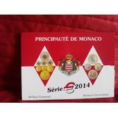 Rare Coffret Bu Monaco 2014 8000 Exemplaires