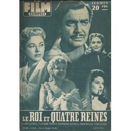 Le Film Complet N�637 / 1957 / Clark Gable & Eleanor Parker, Mario Lanza, Darry Cowl
