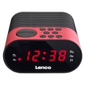 Lenco Cr-07 Radio Portable Noir, Rose
