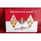 Rare Coffret Bu Euro Monaco 2011 Mariage 7000 Exemplaires