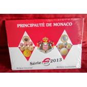 Rare Coffret Bu Euro Monaco 2013 10000 Exemplaires