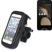 Bike Mount Pour Asus Zenfone 4, Montage Guidon Pour Les Smartphones / T�l�phones Mobiles, Universellement Applicables. Convient Pour V�lo, Moto, Quad, Scooter, Etc. Hydrofuge, �tanche � La Pluie,