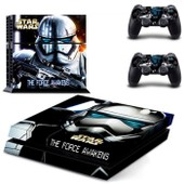 Star Wars The Force �veil Vinyle Couverture Decal Peau Autocollant Ps4 Pour Sony Playstation 4 Console & 2 Controller Skins