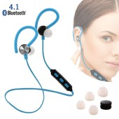 S9 Sports Stereo Wireless Bluetooth Earbuds Blue TH255