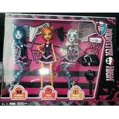 Coffret Poup�es Monster High Toralei Purrsephone Meowlody Go Team
