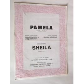 """pamela """"pamela, pamela"""" enregistré par sheila disque philips"""
