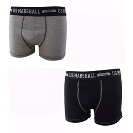 Pack 2 Boxers Homme U.S. Marshall Coton