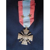 Indochine - Croix De Guerre Toe
