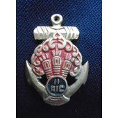 Indochine - Insigne 11 �me Ric R�giment D'infanterie Coloniale