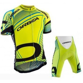 � Manches Courtes Ensembles Orbea 2015 Hommes Sport De Ciclismo V�lo Jersey Hombre Maillot Ciclismo Abbigliamento Vtt Jaune