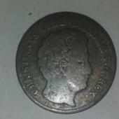 Monnaie Argent 4 Skilling Danemark