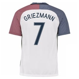 2016-17 France Away Shirt (Griezmann 7) - Kids