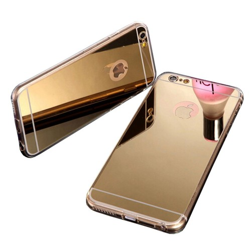 Coque iphone 6 6s souple or doré gold effet miroir | Rakuten