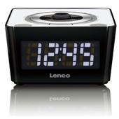 Lenco Cr-16 Radio Portable Noir Et Blanc