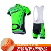 V�tements De Cyclisme Orbea Ropa Ciclismo Maillot Ciclismo V�lo Maillot �t� Vtt Sportwear Gel Pad Maillot Vert