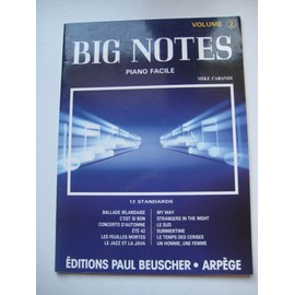 Big notes Piano facile volume 2 Mike Carandi