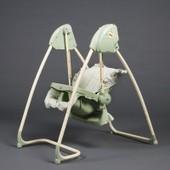 Splendide 2en1 Chaise Haute + Balancelle �lectrique Vert Homey