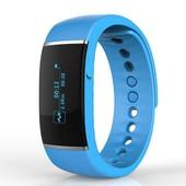 Montre Bracelet Connect�e Intelligente Smartwatch Tracker Capteur Suivi D'activit� Bluetooth Podom�tre Sommeil Sport Sant� Pour T�l�phone Portable Android Ios Iphone Sumsung Bleu
