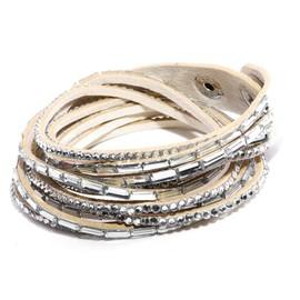 Bracelet Wrap Gouttes D'eau