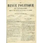 La Revue Politique Et Litteraire 10e Annee - 1er Semestre N�26 - Les Charretiers De M. Frederic Mistral Par Alphonse Daudet, Bouvard Et Pecuchet Par Gustave Flaubert, Etrennes 1881 Par ...