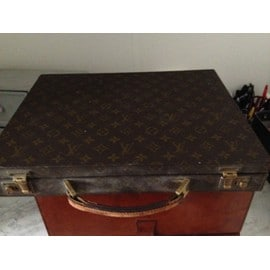 Malette Louis Vuitton Pr�sident Cuir Marron