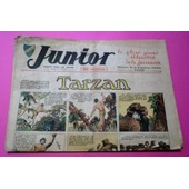 Junior 4 - 1ere Ann�e - Tarzan ( H.Foster) - Les Aventures Fantastiques Du Professeur Soupe ...