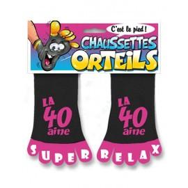 Chaussettes Orteils 40 Ans
