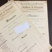 1 Devis & 1 M�moire : Vialfont & Fransioli, Chauffage-Ventilation-Fumisterie. 1929 (Bords Jaunis)