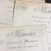 4 M�moires : Entreprise De Ma�onnerie Rontaix. 1945/48. 46 Pages