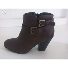 Bottines G�mo 36 Marron