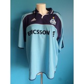 Maillot Football Vintage Olympique De Marseille 2000-2001 Taille: Xl +++ Tbe