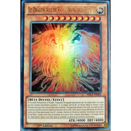 Carte Yu-Gi-Oh Mil1-Fr001 Le Dragon Ail� De R� - L'invincible Ph�nix Neuf Fr