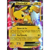 Carte Pok�mon Xy84 Pikachu Ex 130 Pv Promo Neuf Fr