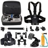 10en1 kit d'accessoires Pour Gopro Hero 2 3 4 SJCAM SJ4000 Xiaomi Sports Action Cam�ra T�te Poitrine
