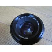 objectif Minolta MD 50 mm f/1.7