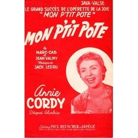 Partition Annie Cordy
