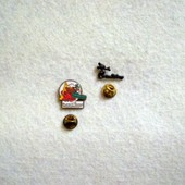 Pin's Eurodisney Lot De 2