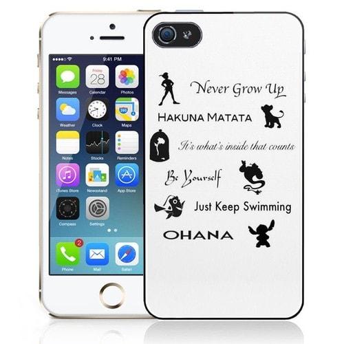 Coque iPhone 5C Citations Disney