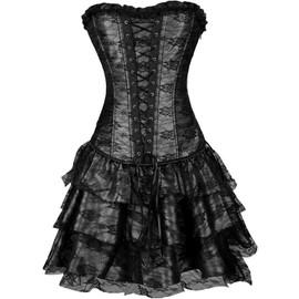 Corset Dress/ Robe De Soir�e/Robe De Cocktail Demoiselles D'honneur/C�r�monie Evening Party Dress/Mariage Gala Bustier Abc Style