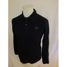 Polo Guess Noir Taille M � - 58%