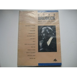 Dave Brubeck Made easy for piano