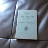 Guide Des Alpes Valaisannes, Volumes Iiia (Du Col De Th�odule Au Monte Moro), 2e �dition �labor�e Pour Le Club Alpin Suisse Avec 44 Illustrations de marcel kurz