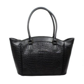Sac � Main Jacques Esterel Je Cc5001 Fa�on Croco Mat Trap�ze