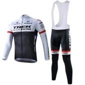 Trek Maillot De Cyclisme Manches Longues + Cuissard V�lo � Bretelles 2015